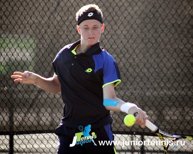 16-летний Alex Rybakov - #100 ITF Junior